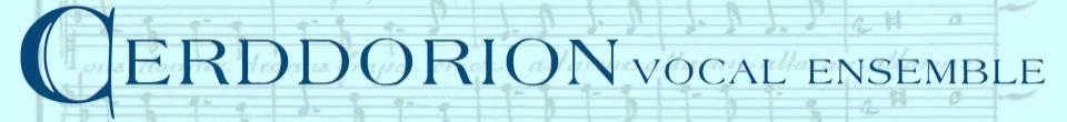 Cerddorion Vocal Ensemble